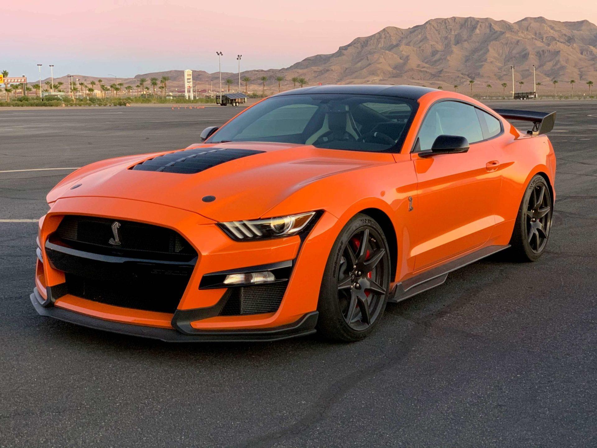 2020 GT500 color options Twister Orange