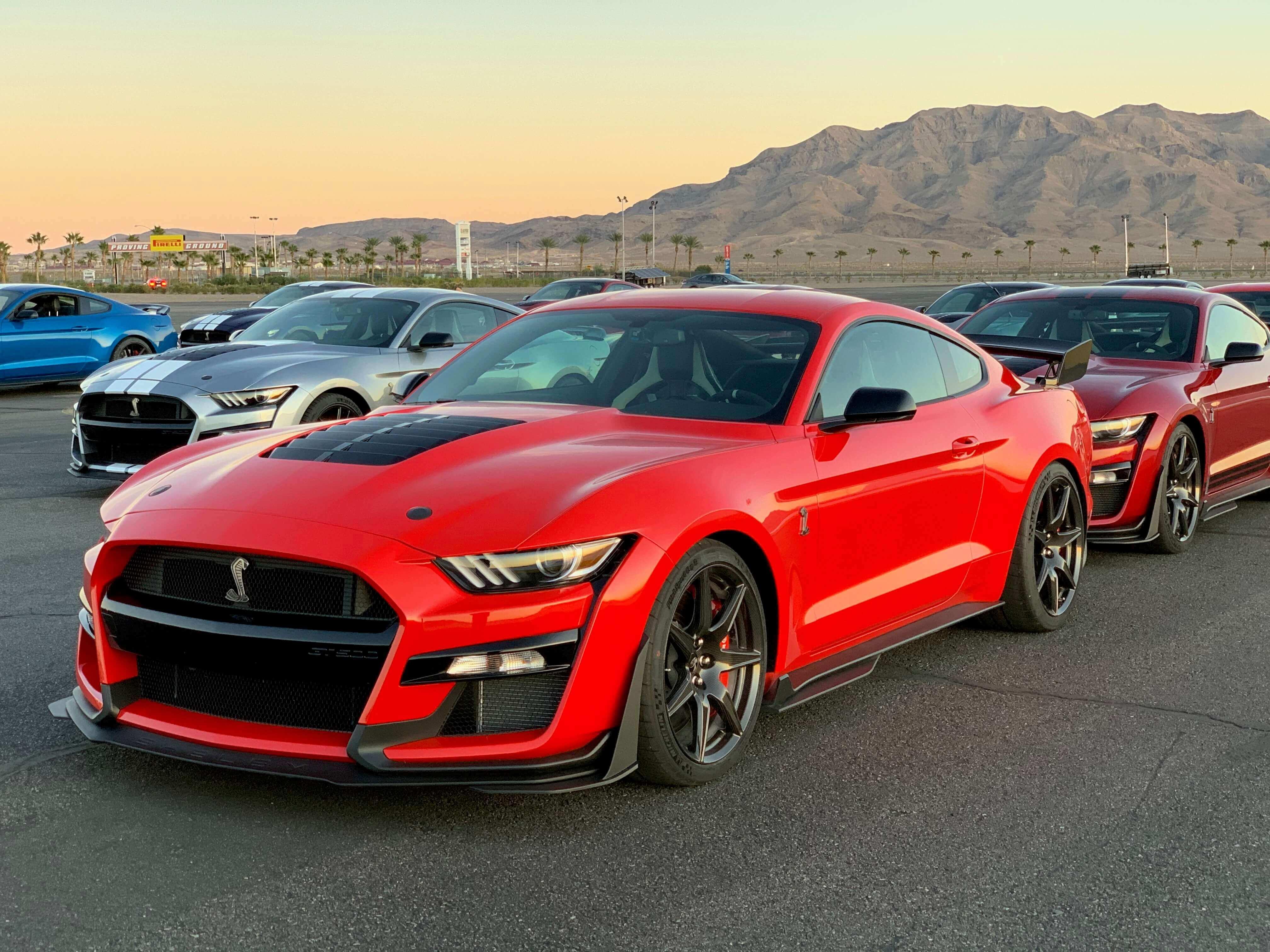 2020 GT500 Race Red