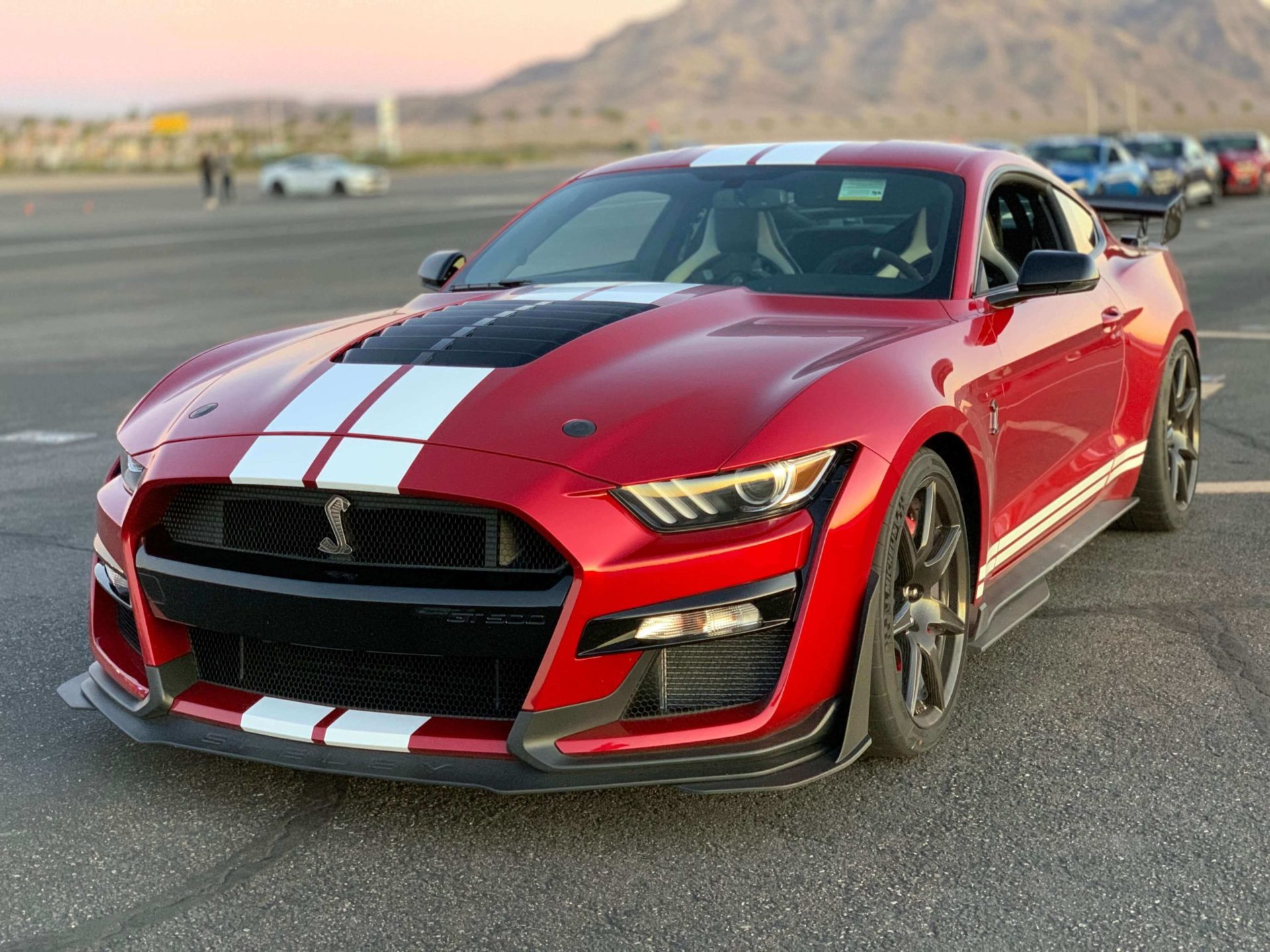2020 GT500 Rapid Red