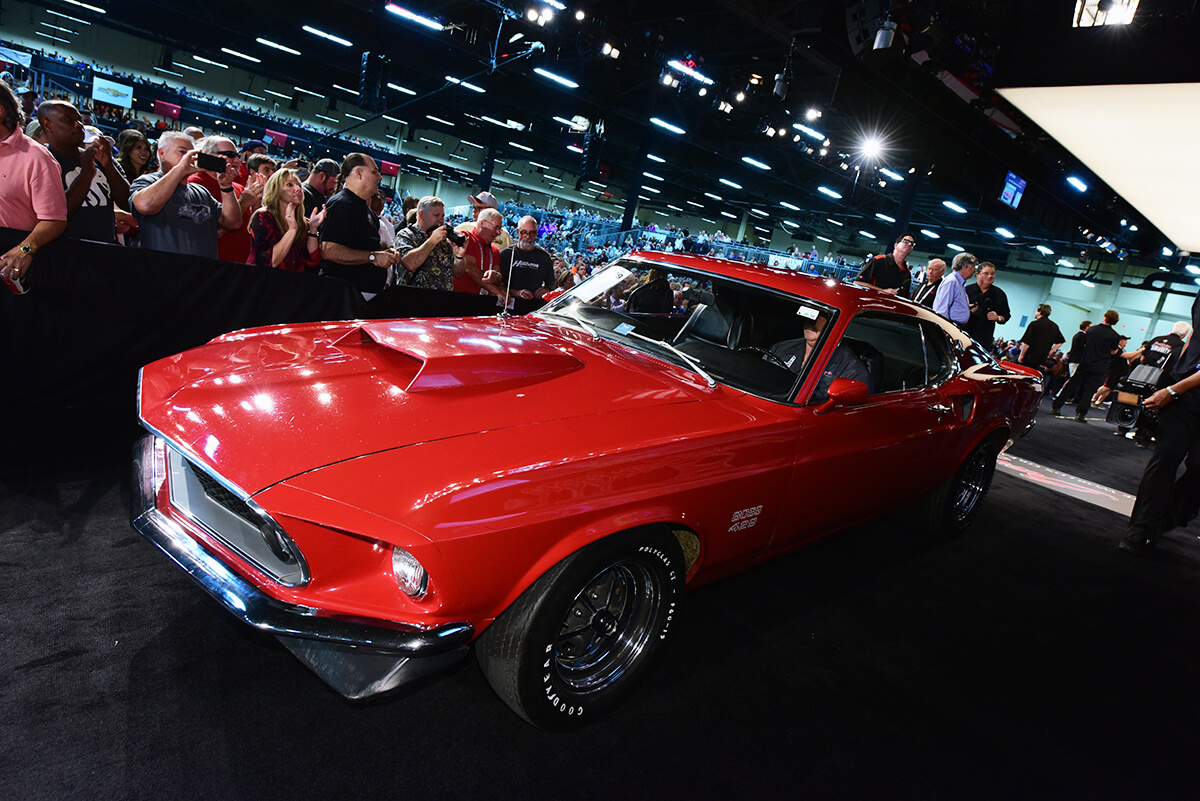 Top 10 Mustangs sold at Barrett Jackson Las Vegas 2019