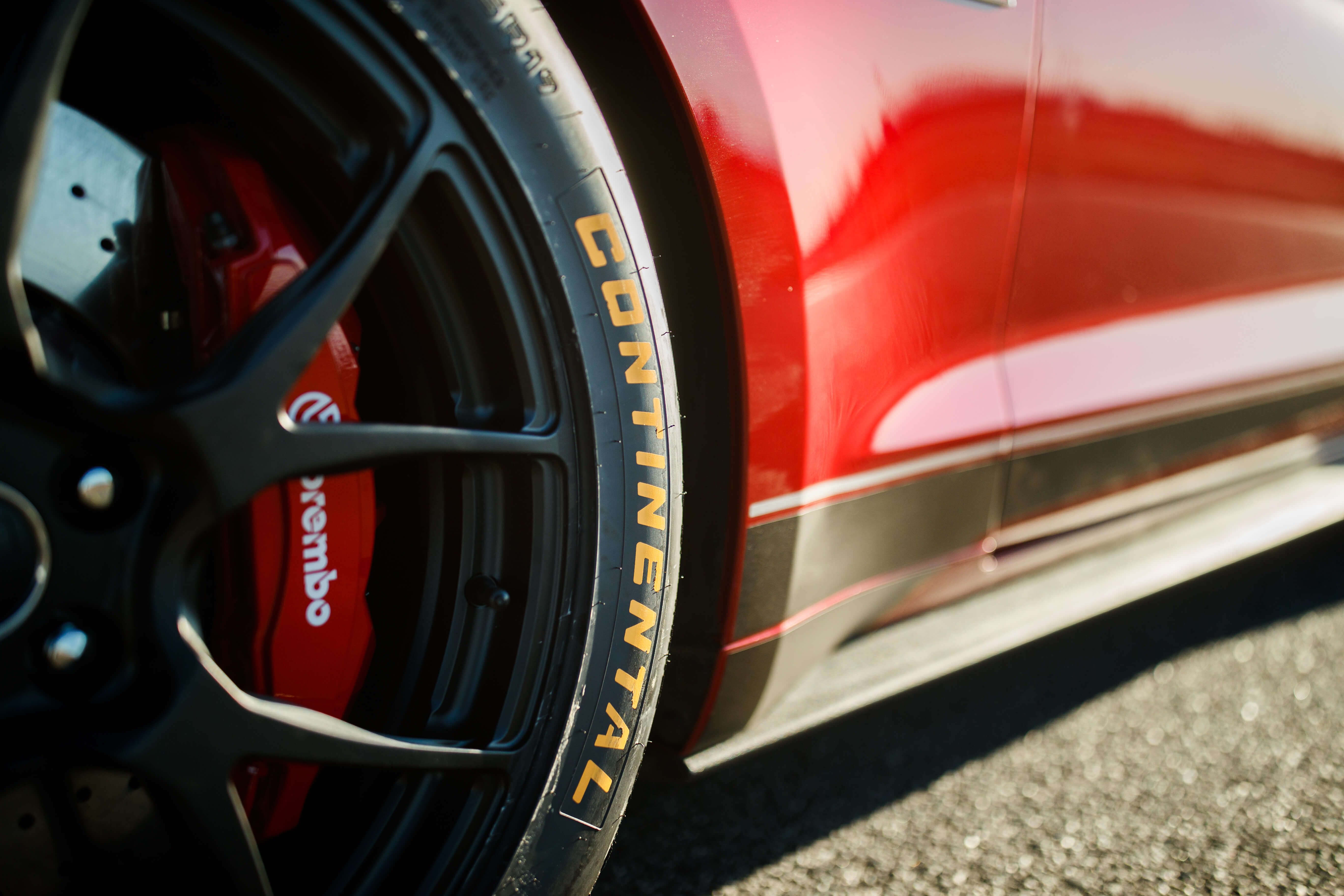 continental extreme contact DR tires