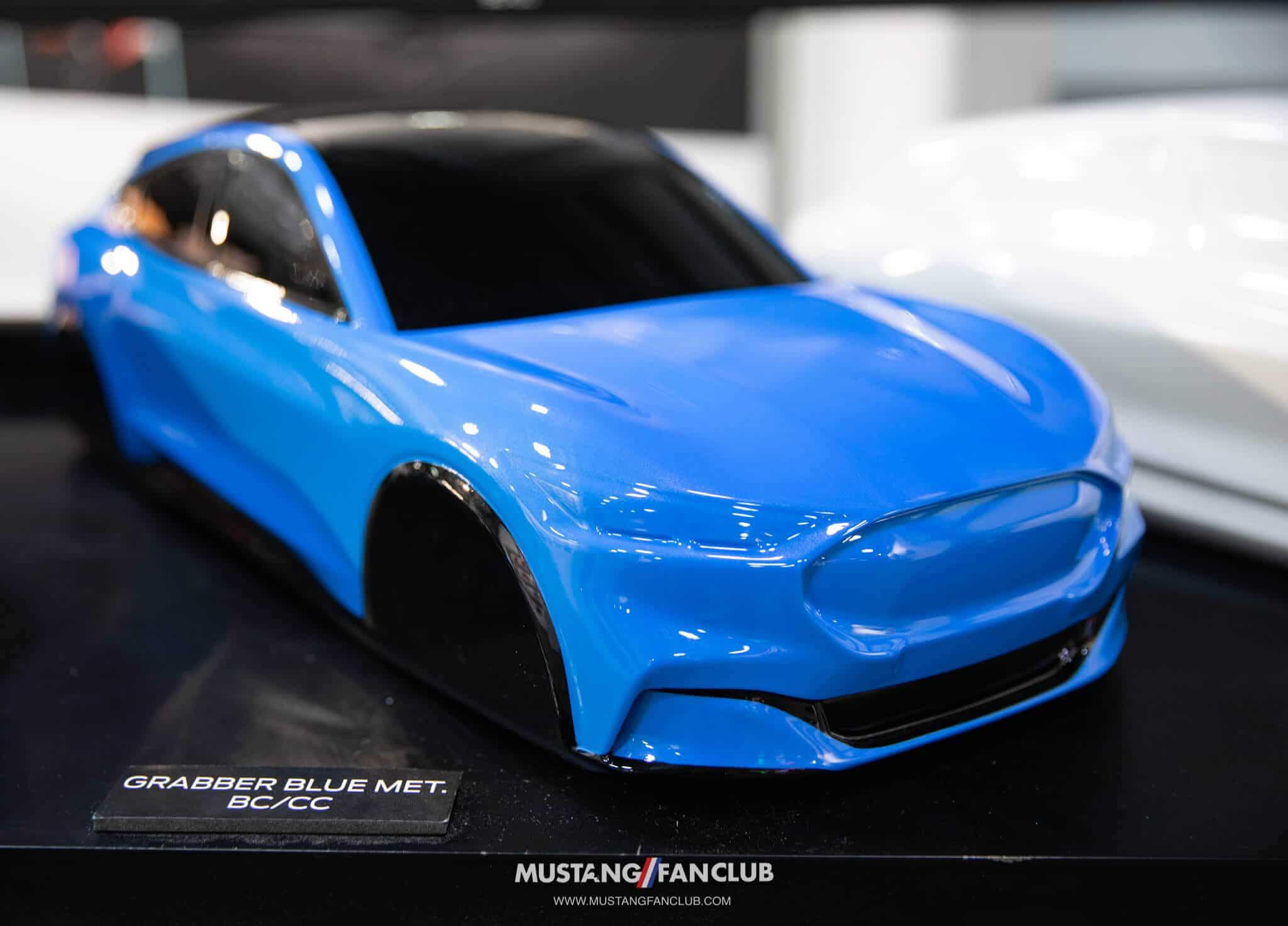 Mach E Grabber Blue Metallic