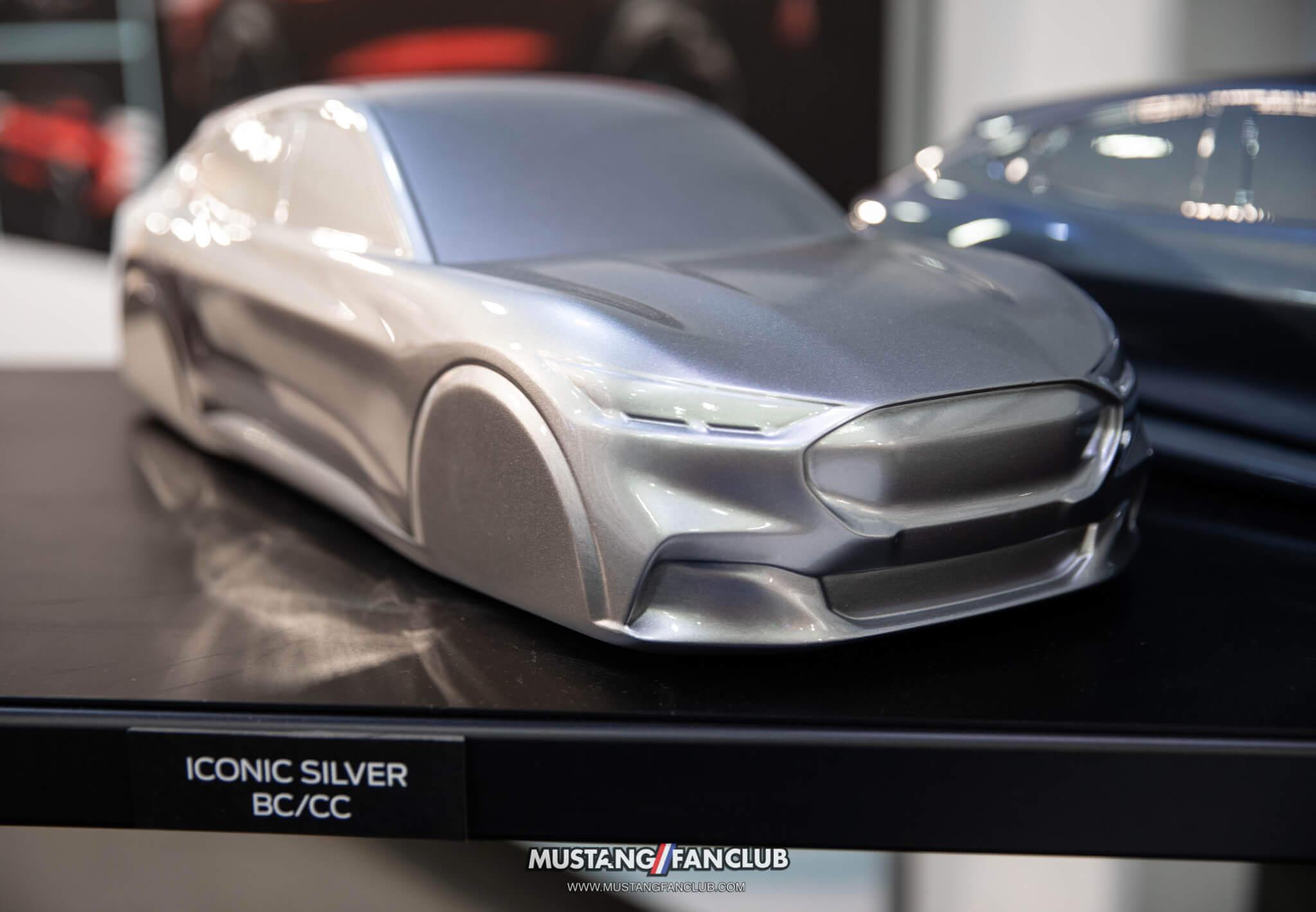 Mach E Iconic Silver