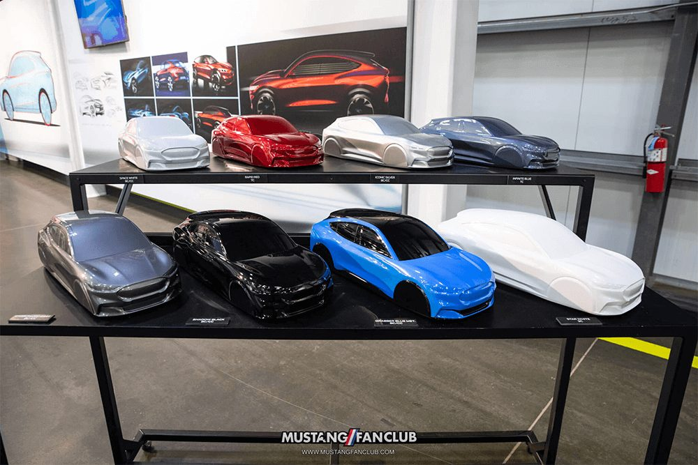 Mustang Mach E Color Options
