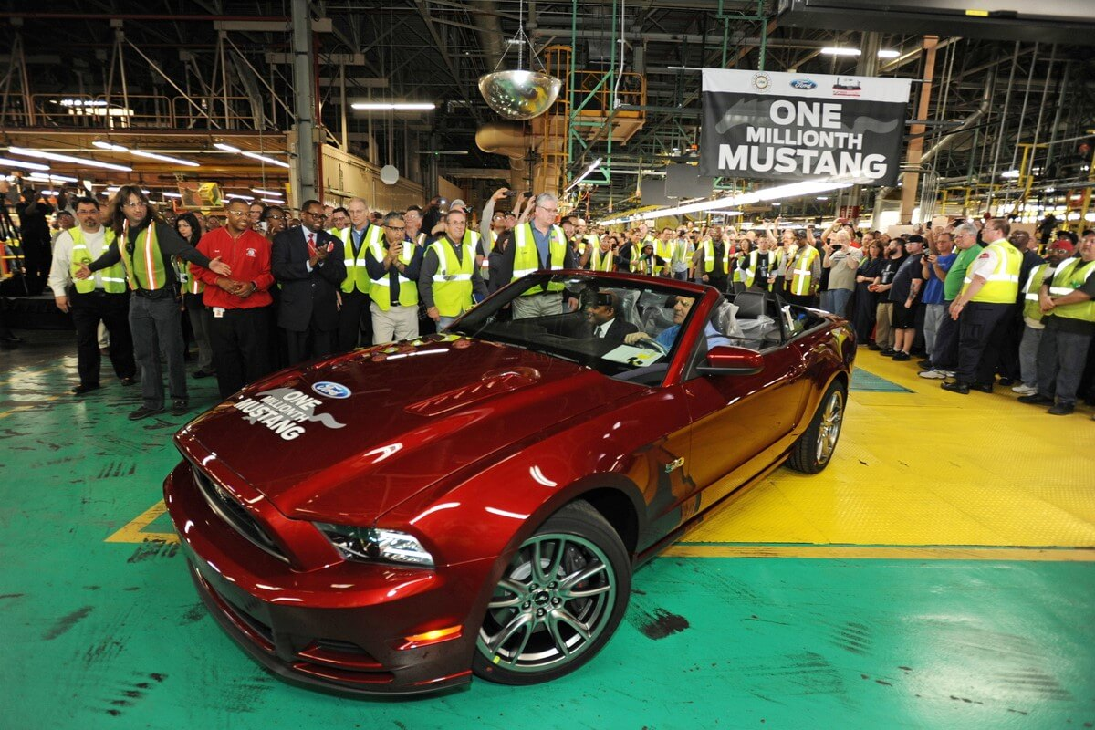 1 millionth Mustang Flat Rock Assembly