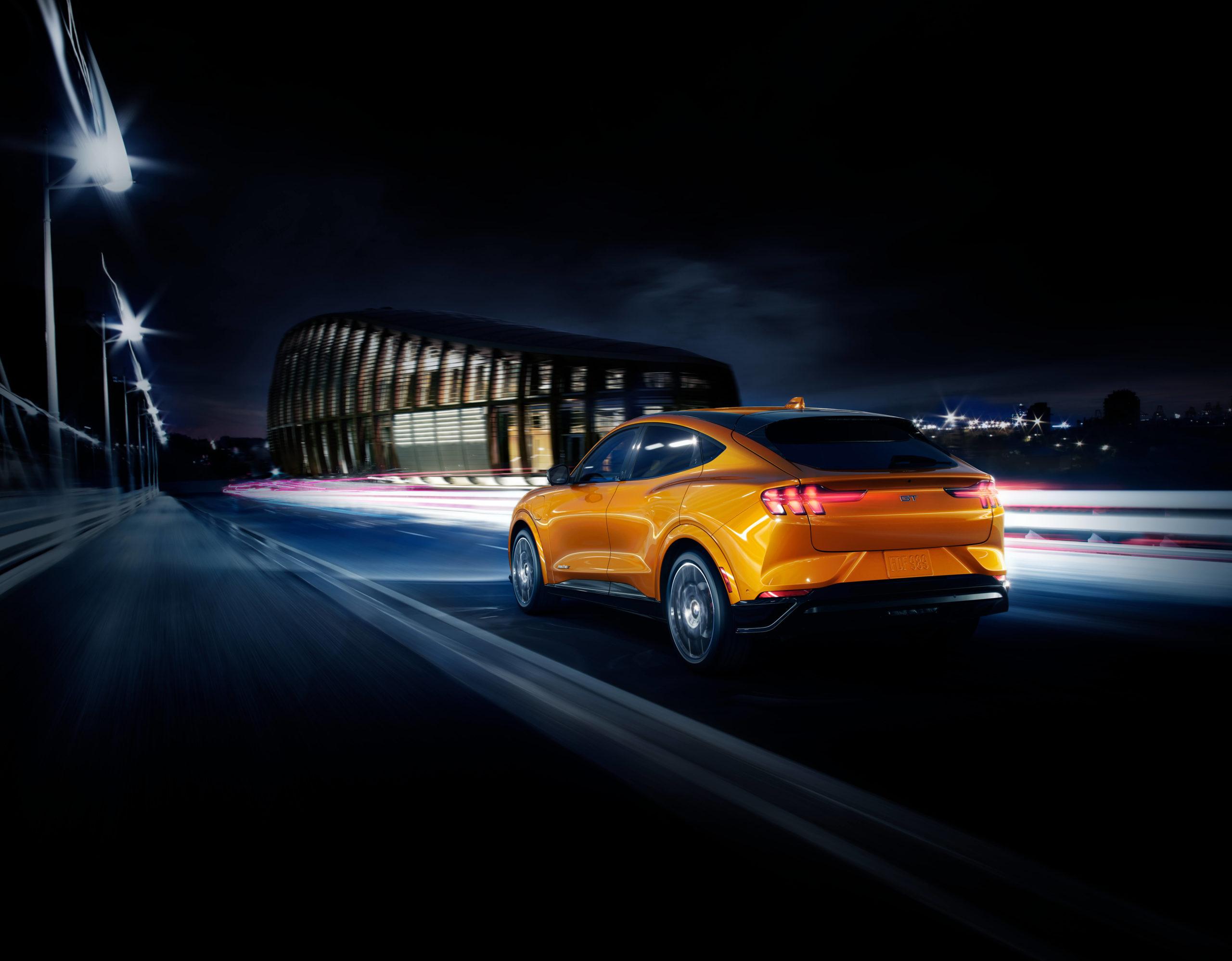 Cyber Orange Mach E