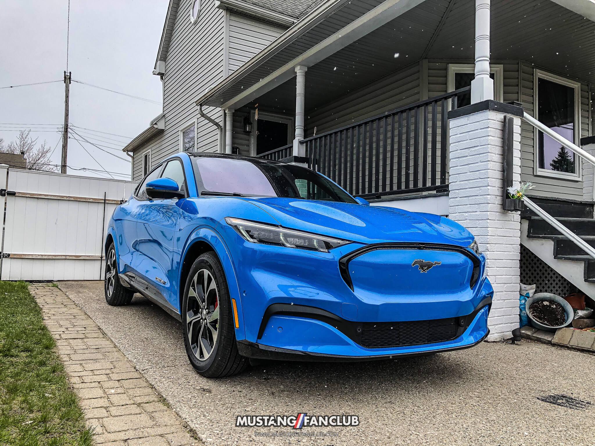 Grabber Blue Mustang Mach E