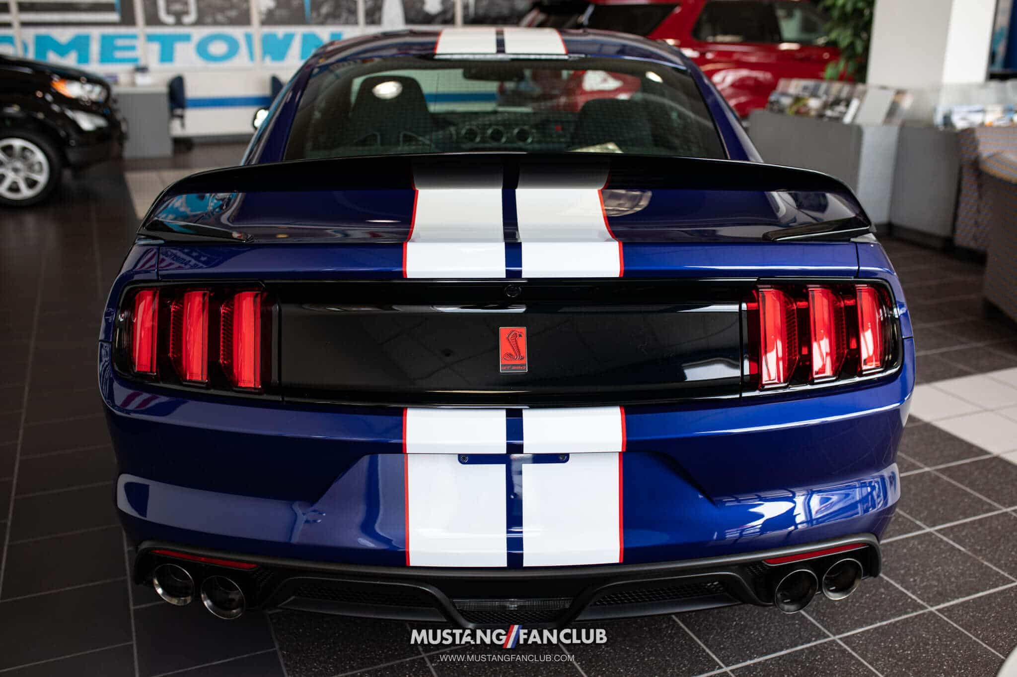 Deep Impact Blue Shelby GT350R Production Numbers