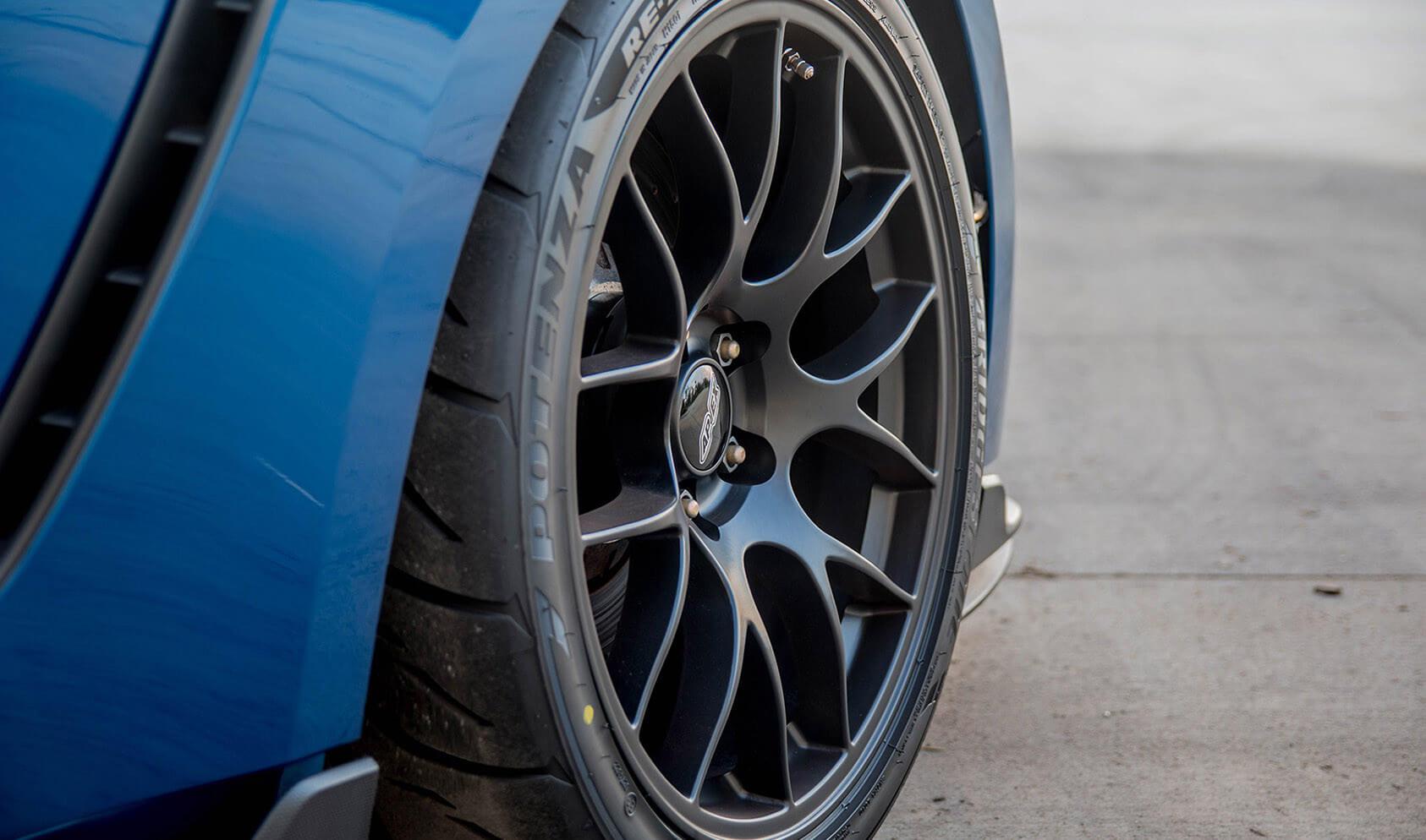 APEX Wheels Shelby GT350