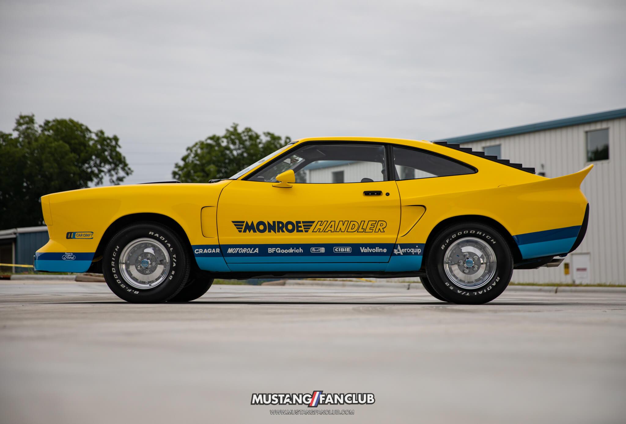 What is the Mustang ii Monroe Handler?